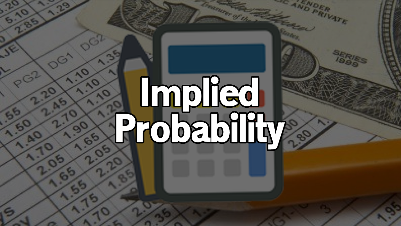 Odds and probability.